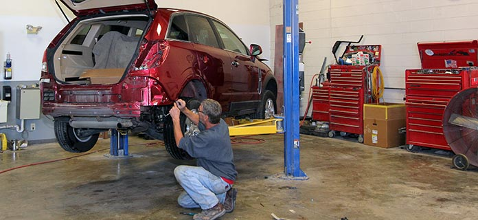 Auto Body Specialties provides complete collision repair